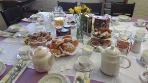 vintage breakfast