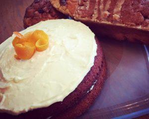 lending library orange cake