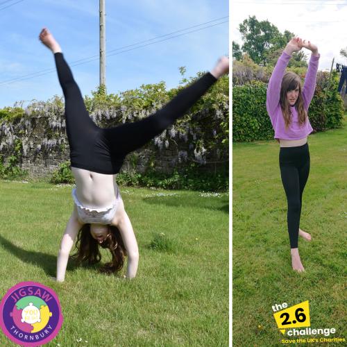 Mini & Junior Volunteers 2.6 Challenge – Amelia