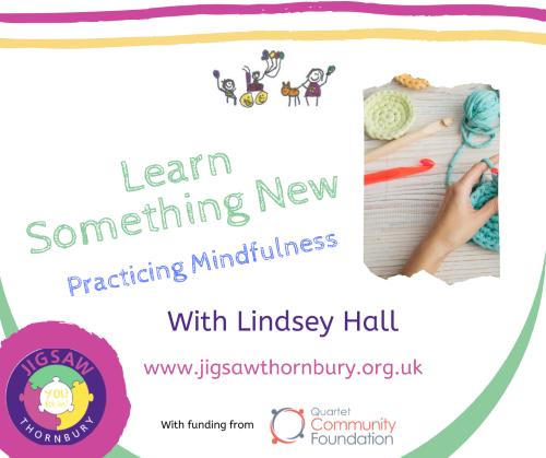 Virtual JIGSAW Mindful Monday – Learn something new