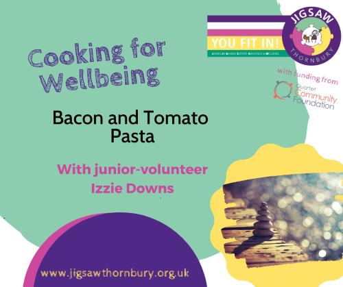 Virtual JIGSAW Treat Tuesday – Cooking with Mini Volunteer Roxie