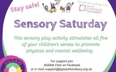Virtual JIGSAW Sensory Saturday – Make your own slime