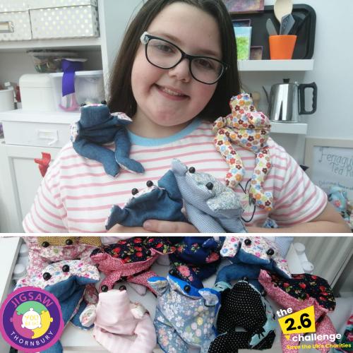 Mini & Junior Volunteers 2.6 Challenge – Ellie