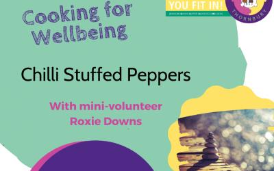 Virtual JIGSAW Treat Tuesday – Chilli Stuffed Peppers