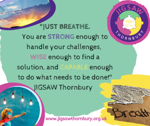 Virtual JIGSAW Wind-down Weekend – Just Breathe!