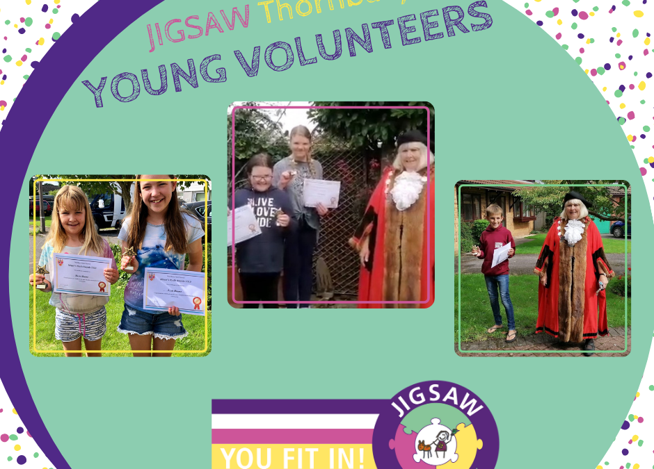 JIGSAW Young Volunteers given Mayor of Thornbury's Youth Awards