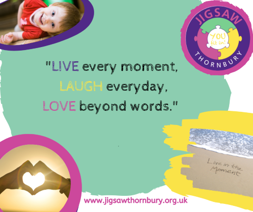 Virtual JIGSAW Mindful Monday – Live in the moment