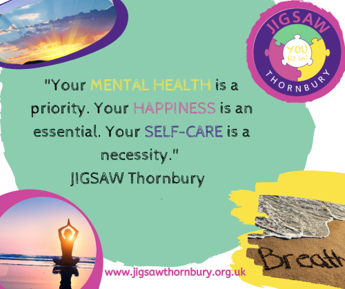 Virtual JIGSAW Mindful Monday – Self-care