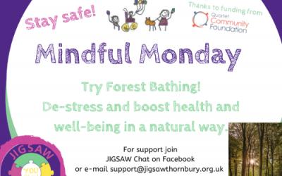 Virtual JIGSAW Mindful Monday – Forest bathing