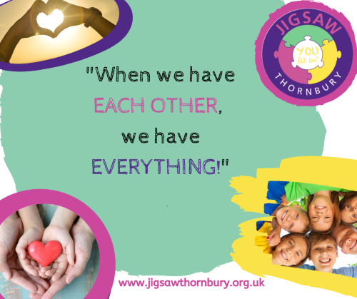 Virtual JIGSAW Family Friday – Stay connected