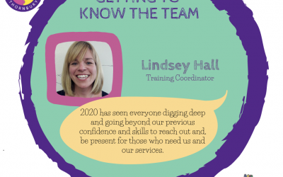 Getting to know the JIGSAW team – Lindsey Hall, Training Coordinator