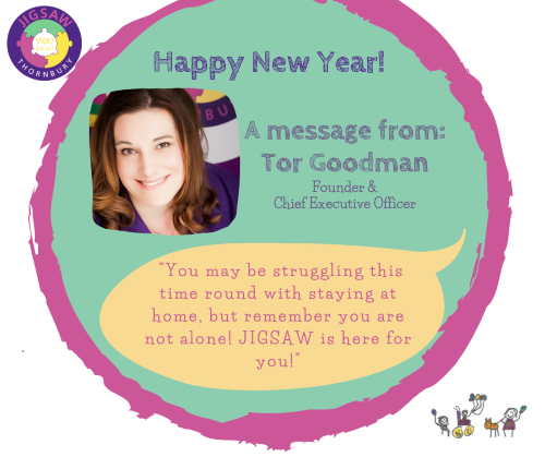 JIGSAW New Year Update – Support Services for Lockdown #3
