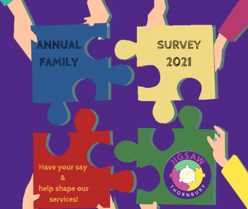 Annual Family Survey 2021 – Have your say!