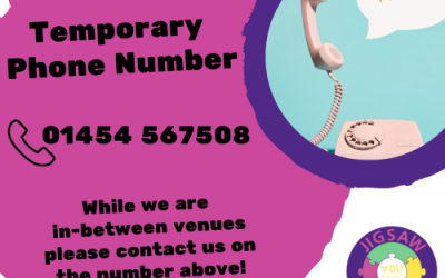 Temporary JIGSAW telephone number